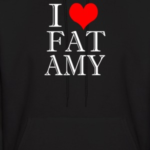 I Heart Fat Amy - Men's Hoodie