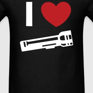 I Love Alan Wake Video Game Flashlight - Men's T-Shirt