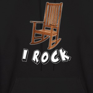I ROCK ROCKING CHAIR - Men's Hoodie