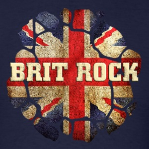 Wonderful Brit Rock  - Men's T-Shirt