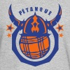 petanque club logo viking helmet ball Long Sleeve Shirts - Men's Long Sleeve T-Shirt