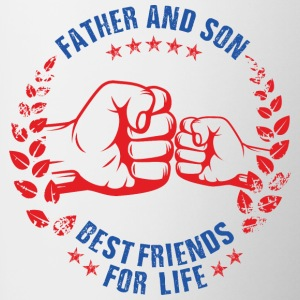 Father and son best friends for life - Coffee/Tea Mug