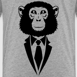 monkey suit and tie tie 2502 Kids' Shirts - Kids' Premium T-Shirt