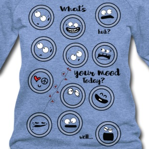 What's your mood today Women's Wideneck Sweatshirt - Women's Wideneck Sweatshirt