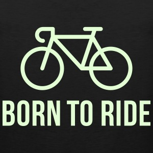 Born To Ride (Racing Bicycle / Bike) Sportswear - Men's Premium Tank