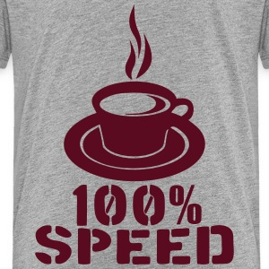100 speed tasse coffee cup Kids' Shirts - Kids' Premium T-Shirt