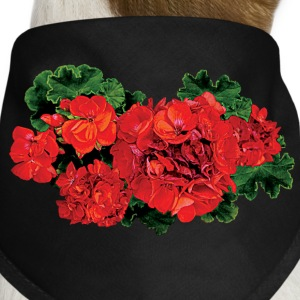 Several Red Geraniums Other - Dog Bandana