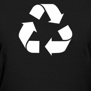 Recycle Screen Printed - Women's T-Shirt