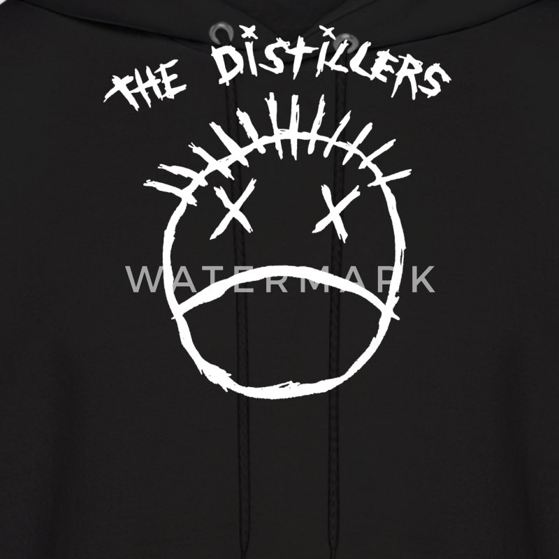 The Distillers Punk Rock - Men's Hoodie