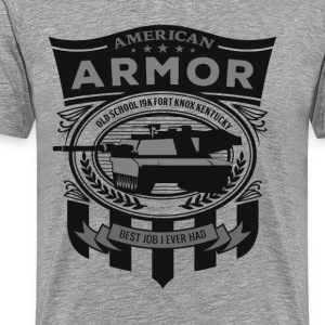 American Armor: Old School - Men's Premium T-Shirt