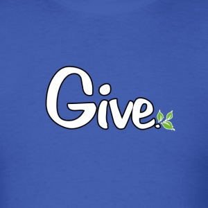 give_white.png T-Shirts - Men's T-Shirt