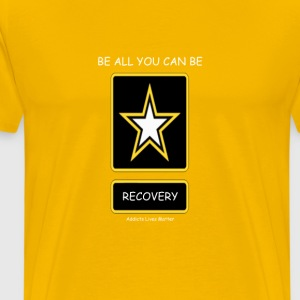 Be all you can be Recover T-Shirts - Men's Premium T-Shirt
