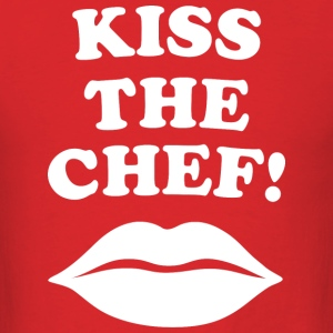 Lethal Weapon - Kiss the chef! - Men's T-Shirt