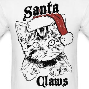 Santa Claws - Men's T-Shirt