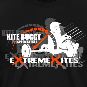 Kite Buggy Speed Seeker - Men's Premium T-Shirt