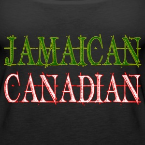 Jamaican Canadian Tanks - Women's Premium Tank Top