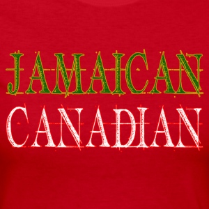 Jamaican Canadian Long Sleeve Shirts - Women's Long Sleeve Jersey T-Shirt