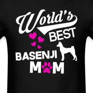 Basenji Dog Mom T-Shirt T-Shirts - Men's T-Shirt
