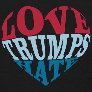 Love Trumps Hate Heart T-Shirts - Women's T-Shirt