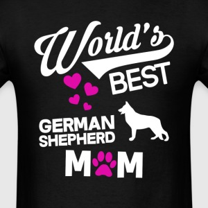 German Shepherd Dog Mom T-Shirt T-Shirts - Men's T-Shirt