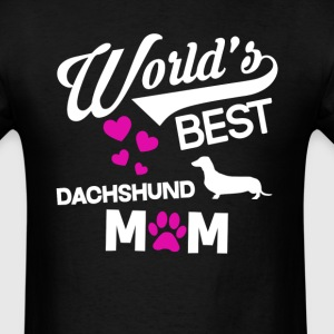 Dachshund Dog Mom T-Shirt T-Shirts - Men's T-Shirt