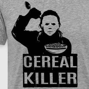 Funny Halloween TShirts Cereal Killer T Shirt  - Men's Premium T-Shirt