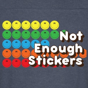 Not Enough Stickers - Vintage Sport T-Shirt