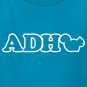 Funny ADHD Squirrel Kids' Shirts - Kids' T-Shirt
