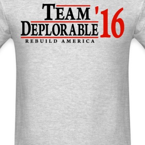 Team Deplorable 2016 rebuild america  - Men's T-Shirt