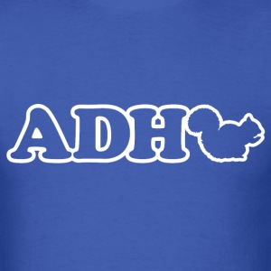 Funny ADHD Squirrel T-Shirts - Men's T-Shirt