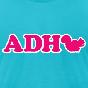 ADHD Squirrel T-Shirts - Men's T-Shirt by American Apparel
