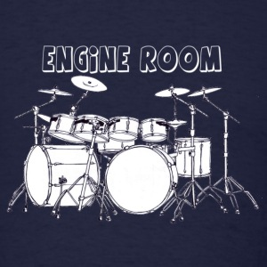Engine Room (drums) - Men's T-Shirt