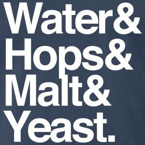 Beer Ingredients T-Shirts - Men's Premium T-Shirt
