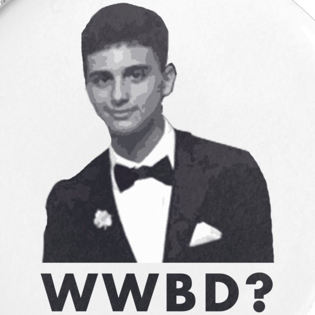 What Would Brian Do? Button