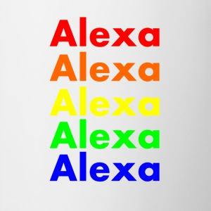 Alexa's Rainbow Mugs & Drinkware - Coffee/Tea Mug