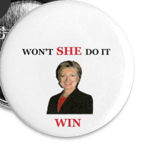 Won't She Do It - Small Buttons