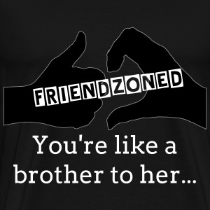 Friendzoned - Men's Premium T-Shirt