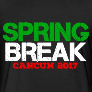 SPRING BREAK CANCUN 2017 T-Shirts - Fitted Cotton/Poly T-Shirt by Next Level