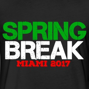 SPRING BREAK MIAMI 2017 T-Shirts - Fitted Cotton/Poly T-Shirt by Next Level