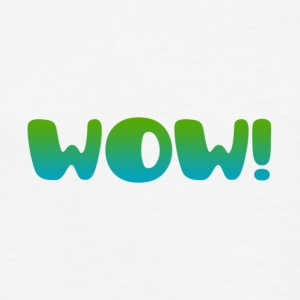 wow T-Shirts - Fitted Cotton/Poly T-Shirt by Next Level