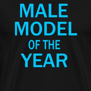 Male Model Of The Year - Zoolander T-Shirts - Men's Premium T-Shirt