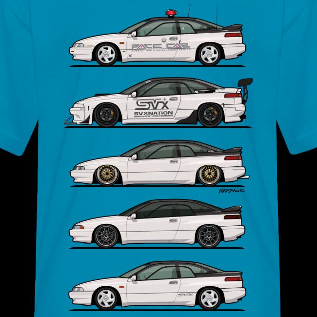 Artsmoto Com Automotive Apparel Stack Of Pearl White Subaru