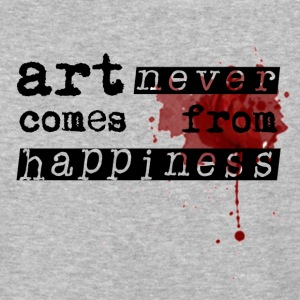 Art Comes From Happiness T-Shirts - Baseball T-Shirt