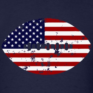 American Flag Football - Men's T-Shirt