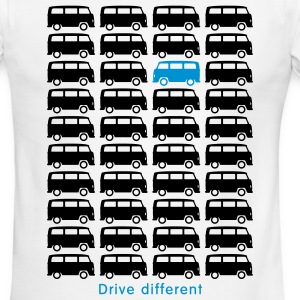 Bulli Bus - Drive different (2c) T-Shirts - Men's Ringer T-Shirt