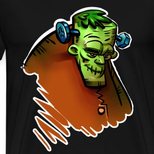 Frankenstein Men's Premium T-Shirt black - Men's Premium T-Shirt