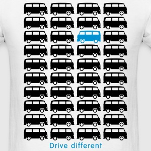 Bulli Bus - Drive different (2c) T-Shirts - Men's T-Shirt