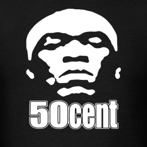 50 Cent Stencil - Men's T-Shirt