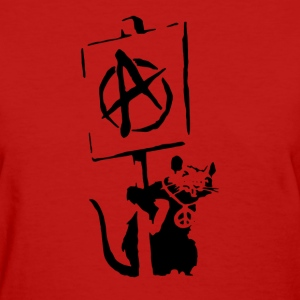 BANKSY RAT STENCIL - Women's T-Shirt