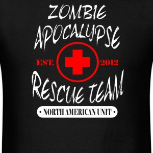 Zombie Apocalypse Rescue Team  - Men's T-Shirt